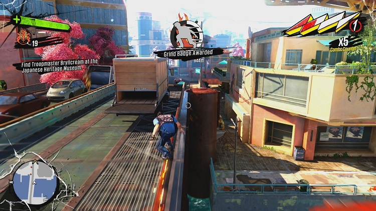 Sunset Overdrive Grinding