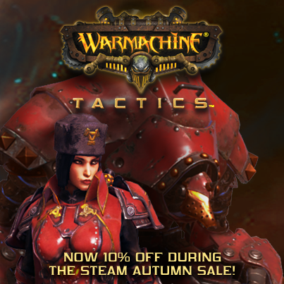 'WARMACHINE: Tactics' Brings The Tabletop To Your Desktop (Or Laptop)