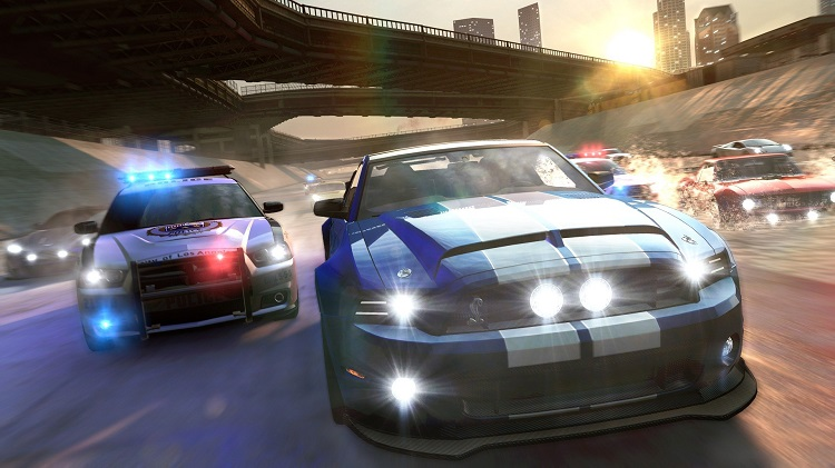 The Crew Police Chase