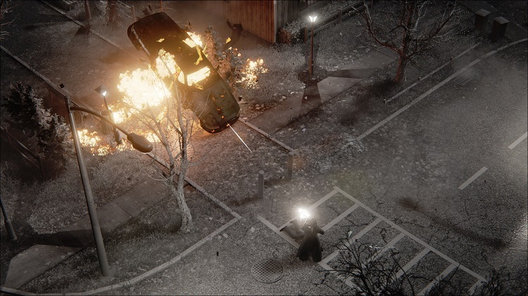 Hatred Car Explosion