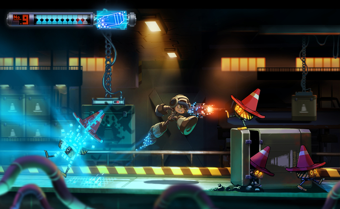 Mighty No 9 Beck Attack