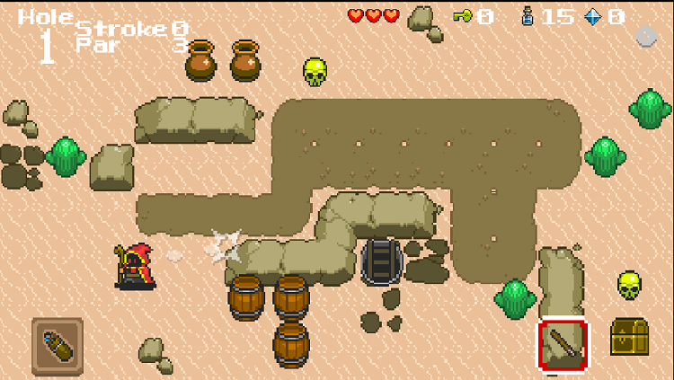 Wizard Gold RPG Desert
