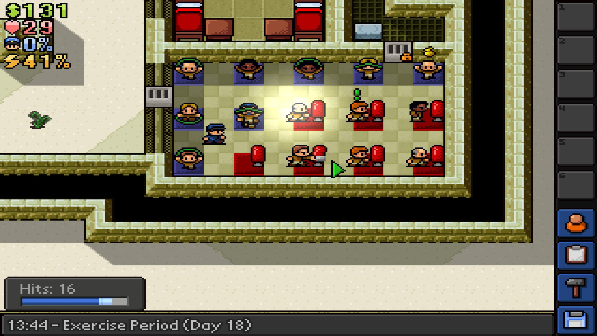 The Escapists San Pancho Gym