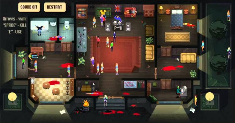 Crime Scene Party Hard