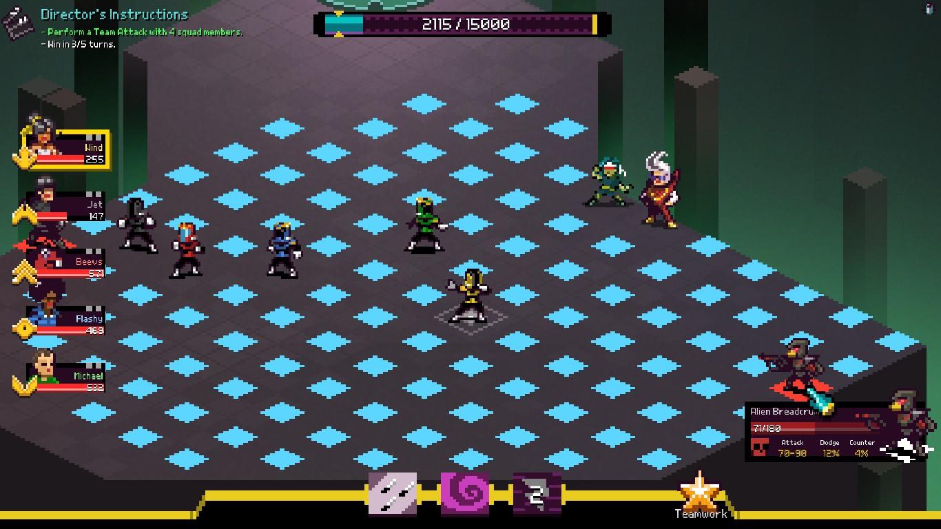 Chroma Squad Grid