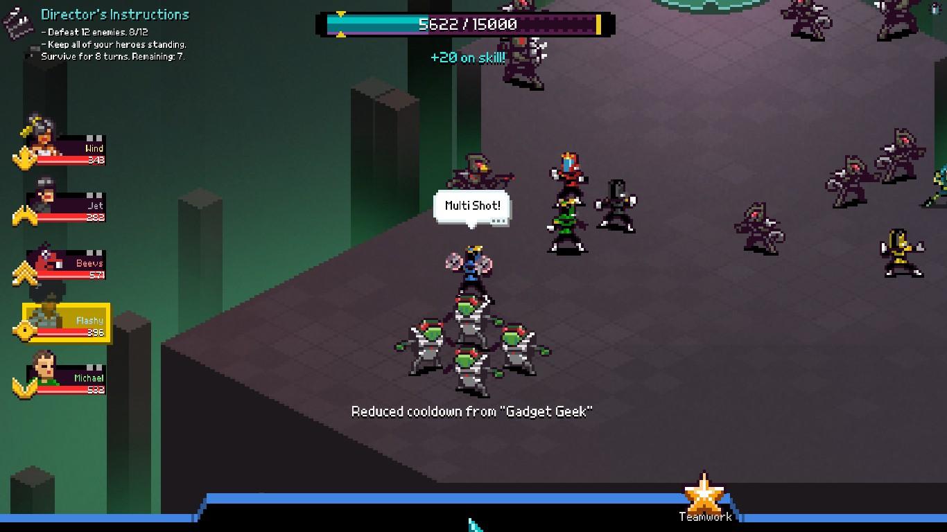 Chroma Squad Skill