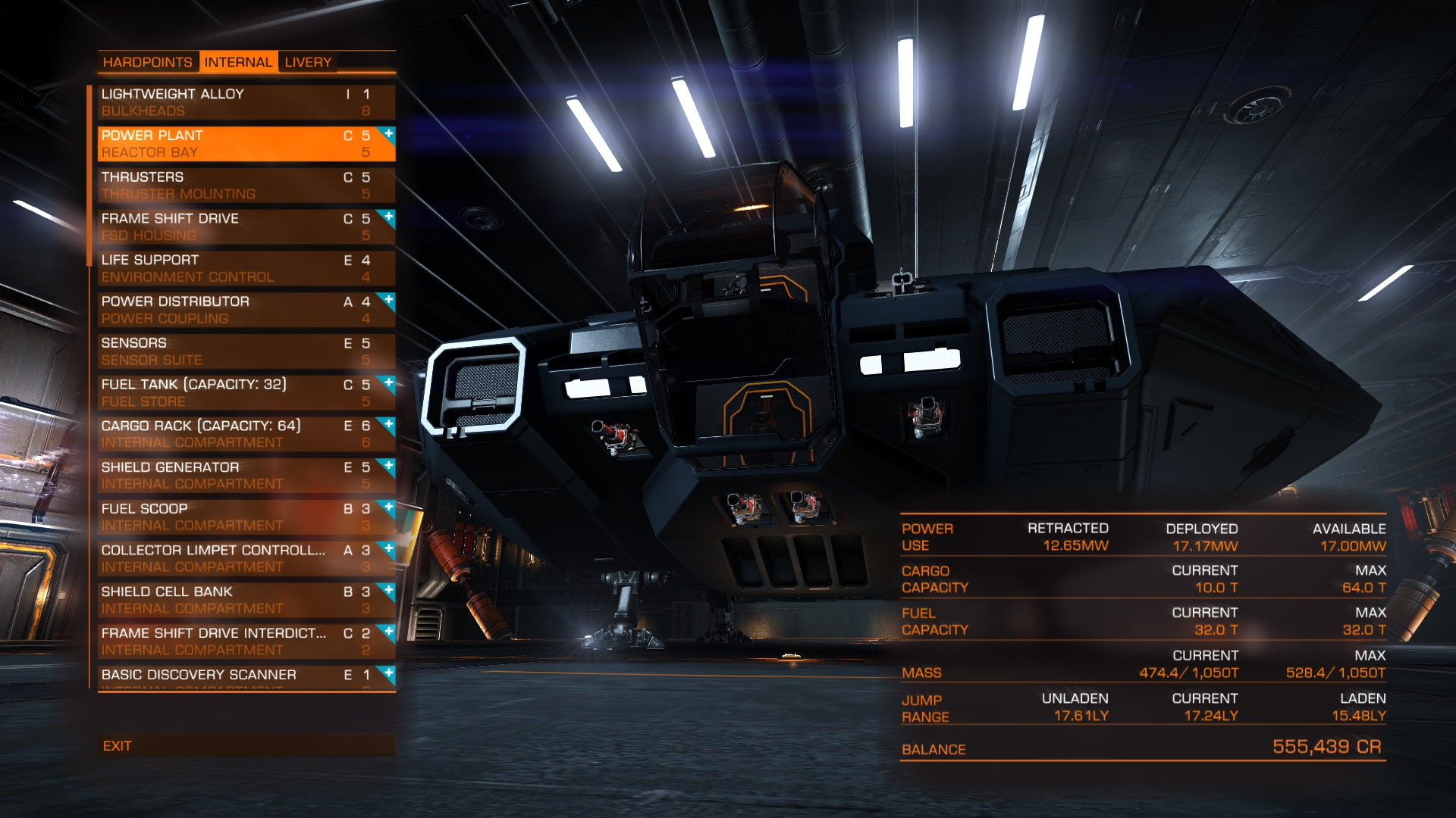 Elite: Dangerous Outfitting