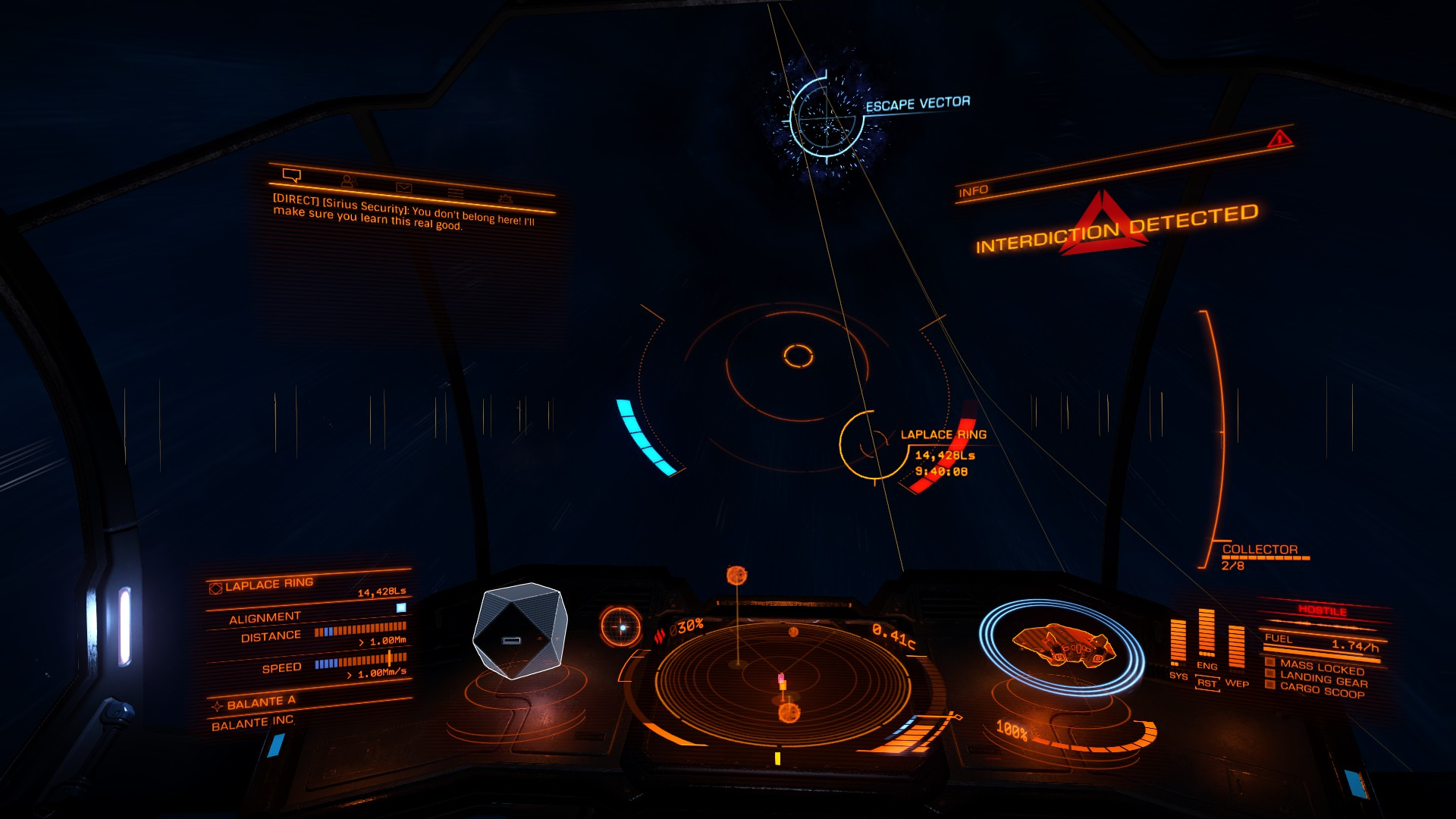 Elite: Dangerous Interdiction