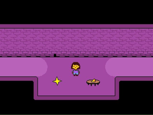undertale lets you walk a razor thin line between pacifist and war