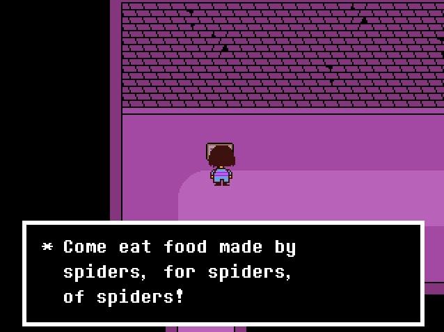 Undertale Spider Bakesale