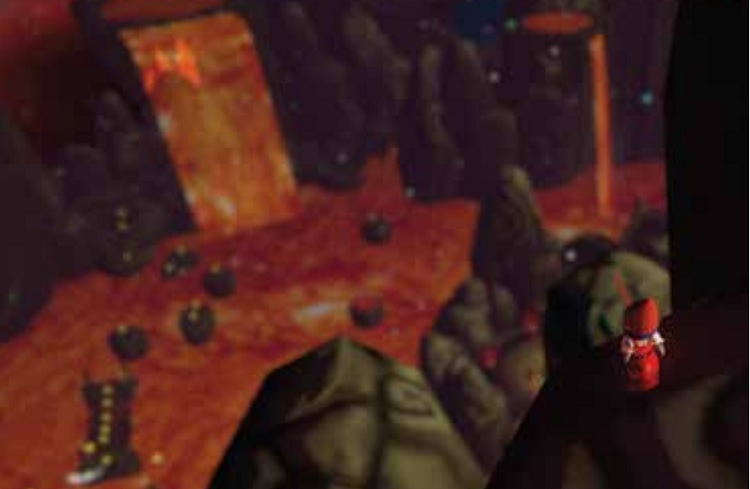 Gnomes Vs Fairies Lava