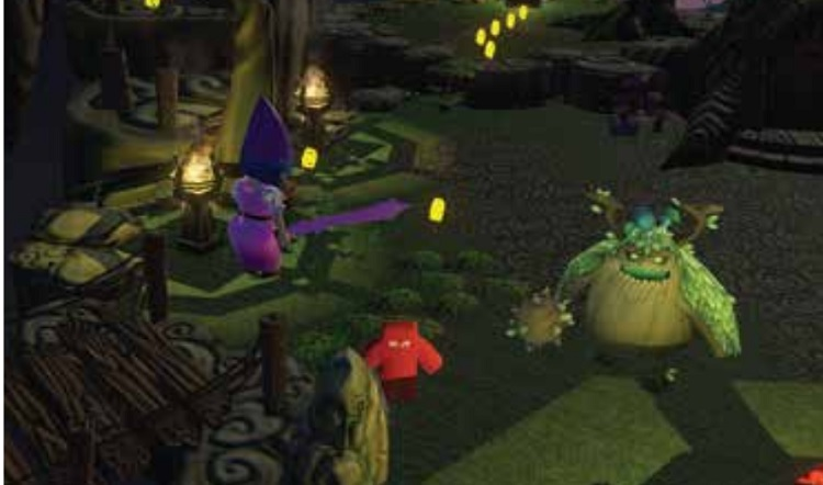 Gnomes Vs Fairies Enemies