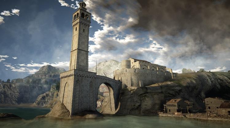 Black Desert Seaside Castle
