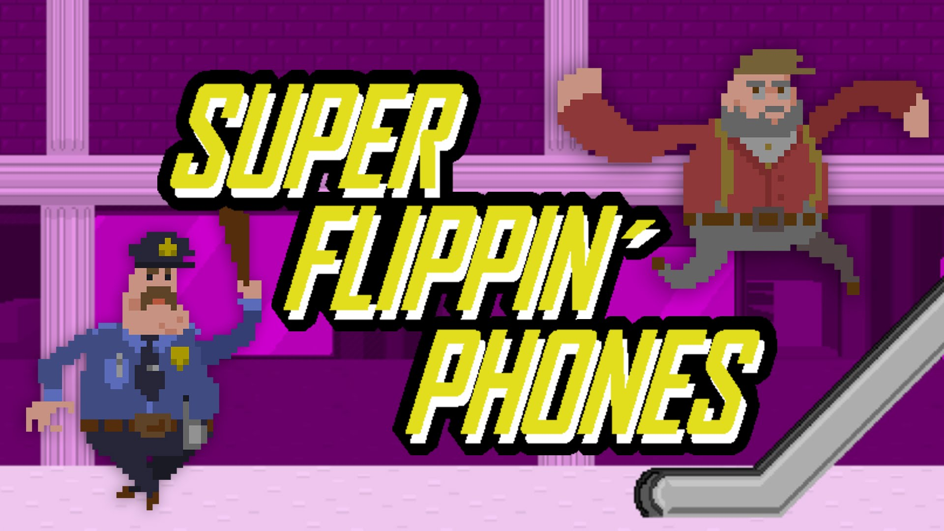 'Super Flippin' Phones' is mindless, phone-smashing, mall-crawling mayhem