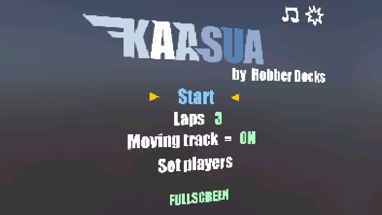 Try to stay on a morphing race track in 'Kaasua'