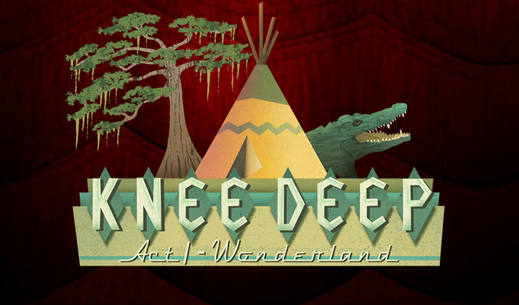 'Knee Deep' is an enthralling episodic noir that plays like a theater production