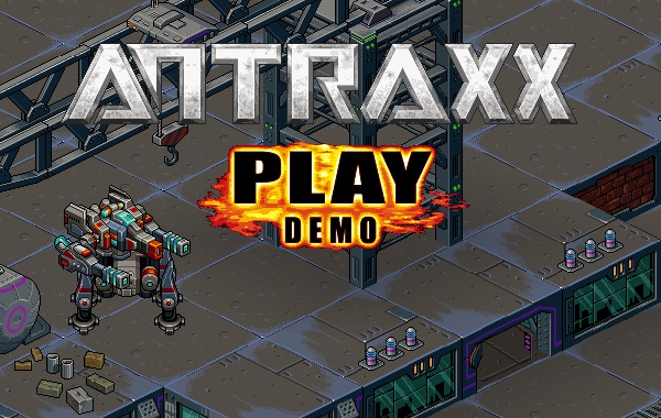 'Antraxx' is a massively multiplayer mech battle game promising huge depth and customization