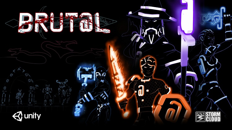 Survive a 3D ASCII-based dungeon-crawler in the roguelike 'Brut@l'