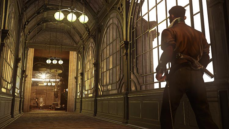 Dishonored 2 Hallway