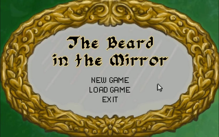 Revisit the feel of classic point-and-click adventure in 'The Beard in the Mirror'