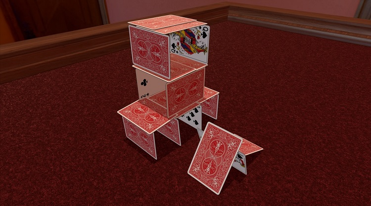 Tabletop Simulator Card House