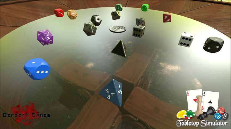 Tabletop Simulator Dice